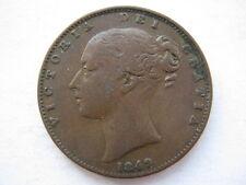 1849 Farthing F