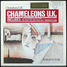 CHAMELEONS U.K. 'Script Of The Bridge' Original 1984 1st press Promo LP