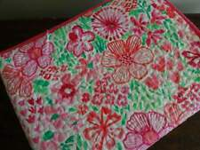 CYNTHIA ROWLEY Bright PINK GREEN White GIRLS FLORAL Full QUEEN QUILT