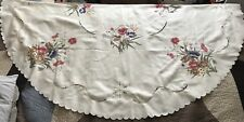 Damask Round floral Table cloth 72 Inches Diameter
