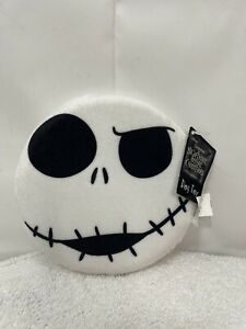 The Nightmare Before Christmas Jack Skellington Face Frisbee Squeaker Dog Toy