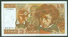 10 FRANCS BERLIOZ DU 1/8/1974 ETAT: SPL 1épinglage lot N 71 05374