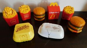 Vintage McDonald's Transformers Changeable Toy Lot. 1980s and 1990s Mixed Lot.