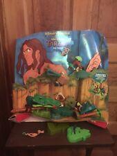 2000 McDonald's Disney's Tarzan Fisher Price Toddler Toys Happy Meal Display