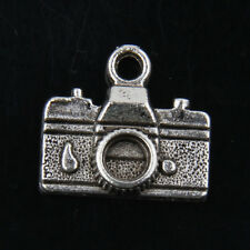 30pcs Tibetan Silver Camera Pendants Charms For Jewelry Making 7Y290