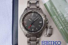 Rare JDM Seiko Spirit Titanium 5M45-6A10 GMT Watch SCDZ007 Feb. 1995 - Serviced