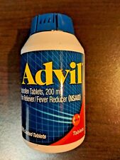 Advil Ibuprofen 200mg Coated Tablets - 300 Coated Tablets Ex.1/21 Free Shipping