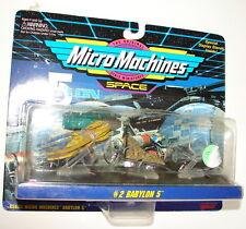 Micro Machines Galoob Babylon 5 set 2  MIP  MOC  616