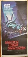 Escape From New York original daybill movie poster