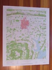 Conway Arkansas 1963 Original Vintage USGS Topo Map