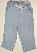 babyGAP Size 18-24 Months Boys Blue Denim Pull-On Jeans