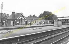 Radlett Railway Station Photo. Elstree - Napsbury. Mill Hill to St. Albans. (8)