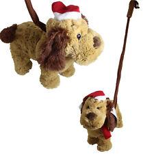 Noël animé de marche chien avec PLOMB - James marron 'I Feel Good '