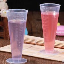 1PCS 100ml 1oz Plastic Measure Graduated Measuring Rice Medicine Cups Liquid
