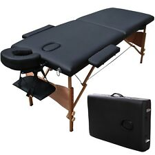 Portable Massage Table Lightweight Foldable Tattoo Spa Bed Travel Carry Case Bag