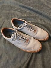 Tommy Hilfiger  Men's Canvas Fashion Sneakers Shoes Size 10.5 Gray