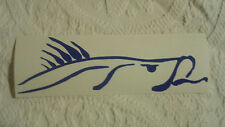 vinyl decal snook fish