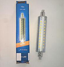 LAMPADA LAMPADINA  LED ATTACCO R7s 118 mm 10W 220V LUCE CALDA FREDDA NEUTRA