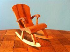 Schaukelstuhl Stuhl  Lundby Puppenstube Puppenhaus 1:18 dollhouse rocking chair