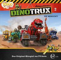 DINOTRUX - (2)DAS ORIGINAL-HÖRSPIEL Z.TV-SERIE-DIE WERKSTATT   CD NEW