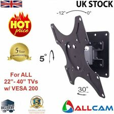 "LCD2900 Wall TV Bracket 22"" 28"" 30"" 32"" 38"" 40"" LED/LCD Tilt & Pan, VESA 200x200"