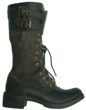 Womens Ladies Timberland Lucille Buckle Zip Distress Leather Boots Size UK  Eur