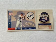 Vintage 1997**Tommy Lasorda Jersey Retirement Los Angeles Dodgers Lapel Pin