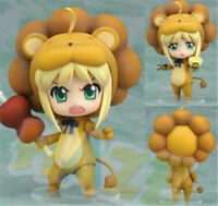 "Nendoroid Fate Stay Night Saber Lion 4"" PVC Action Figure Model Toy In Box Gift"