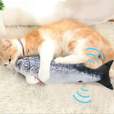 Electric Usb Simulation Fish Cats Toy Funny Interactive Pets Cats Catnip K5S5