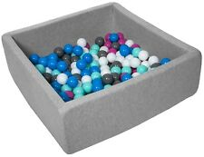 Piscina infantil para niños de bolas pelotas 150 piezas, aprox. 90x90cm