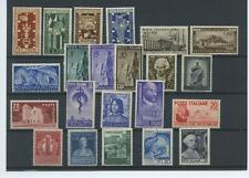 REPUBBLICA 1949 ANNATA CPL. 22V. **