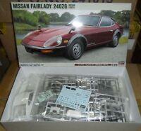 21217 NISSAN FAIRLADY 240ZG 1971 Hasegawa 1:24 plastic model kit