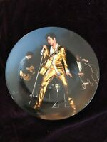 Elvis Presley Bradford Exchange Plate The Memphis Flash 3rd Plate