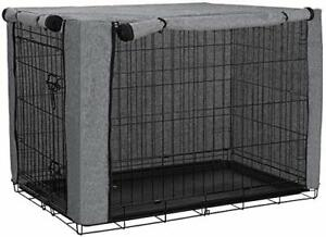 """XL Durable & Windproof Dog Crate Cover 