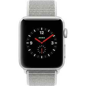 Apple Watch Series 3 42mm Silver Aluminium with Seashell Sport Loop GPS/Cellular