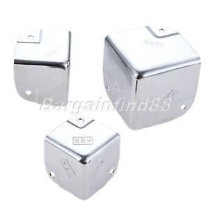 1/4pcs Metal Corner Protector Corner Brackets Angle Brace Protector Trunk Box