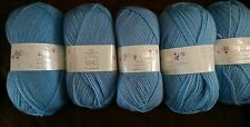Job Lot Double Knitting  Wool. 5 x 100g