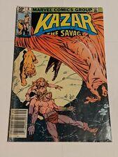 Ka-Zar The Savage #6 September 1981 Marvel Comics Group