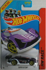 Hot Wheels Super Blitzen violettmetallic HW Race Neu/OVP US-Card Auto Car Mattel