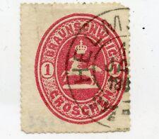 Germany Altdeutschland Braunschweig 1865 Mi. 18 gestempelt weitere sh. Shop (1)
