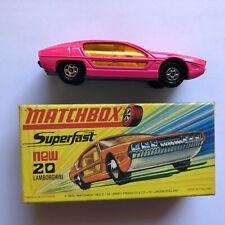 Matchbox Superfast - 20 Lamborghini Marzal Pink -  inkl. original Box
