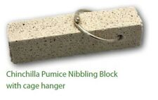 2 x NIBBLING BLOCK FOR CHINCHILLA RATS HAMSTERS RABBITS AND OTHER SMALL ANIMALS