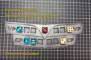 Dashboard Tracker - Victory, Command, Turn counter, Warhammer 40k, Kill Team