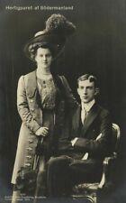 Prince Wilhelm, Duke of Södermanland, Grand Duchess Maria Pavlovna of Russia (3)