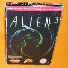 VINTAGE 1992 NINTENDO ENTERTAINMENT SYSTEM NES ALIEN 3 VIDEO GAME PAL A BOXED