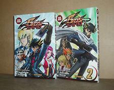 First 2 YU-GI-OH! 5D's manga (english) Yusei Turbo Duelist, D! Grand Prix Begins