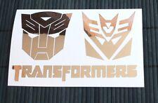adesivo TRANSFORMERS Deception sticker decal vynil vinile auto moto window film