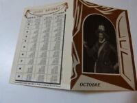 LOTERIE NATIONALE - FEUILLET- octobre 1950 -XVIe siècle - (vp01)