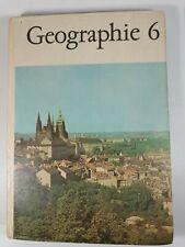 Geographie Klasse 6 DDR Lehrbuch VOLK UND WISSEN VOLKSEIGNER VERLAG 1972