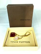 100% Authentic LOUIS VUITTON Alma Red Pink Bag Purse Charm Key Chain NEW M66983